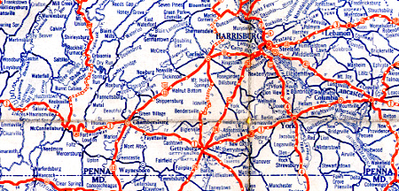 maps Lincoln Highway News