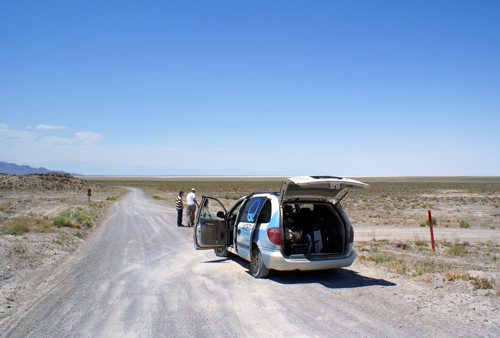Stunning road scenery lincoln highway news for Fish springs nevada
