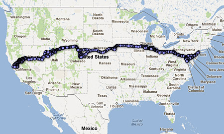Highways Lincoln Highway News - Us highway map